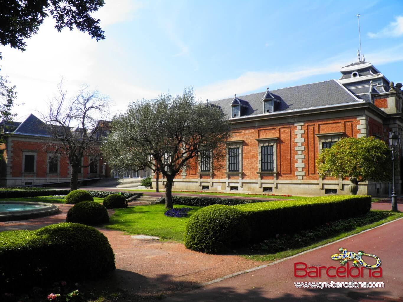 Jardines de Joan Maragall Montjuïc Barcelona