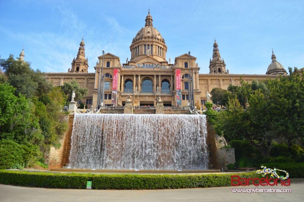 Palacio Nacional Montjuïc Barcelona MNAC